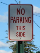 No Parking This Side