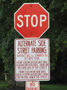 Alternate Side Street Parking