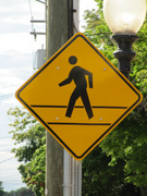 Pedestrian Crossing Warning