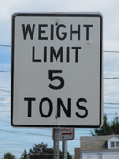 Weight Limit 5 Tons